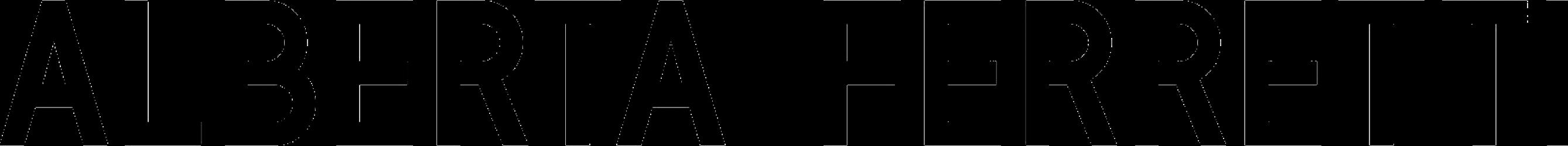 latest alberta ferretti logo